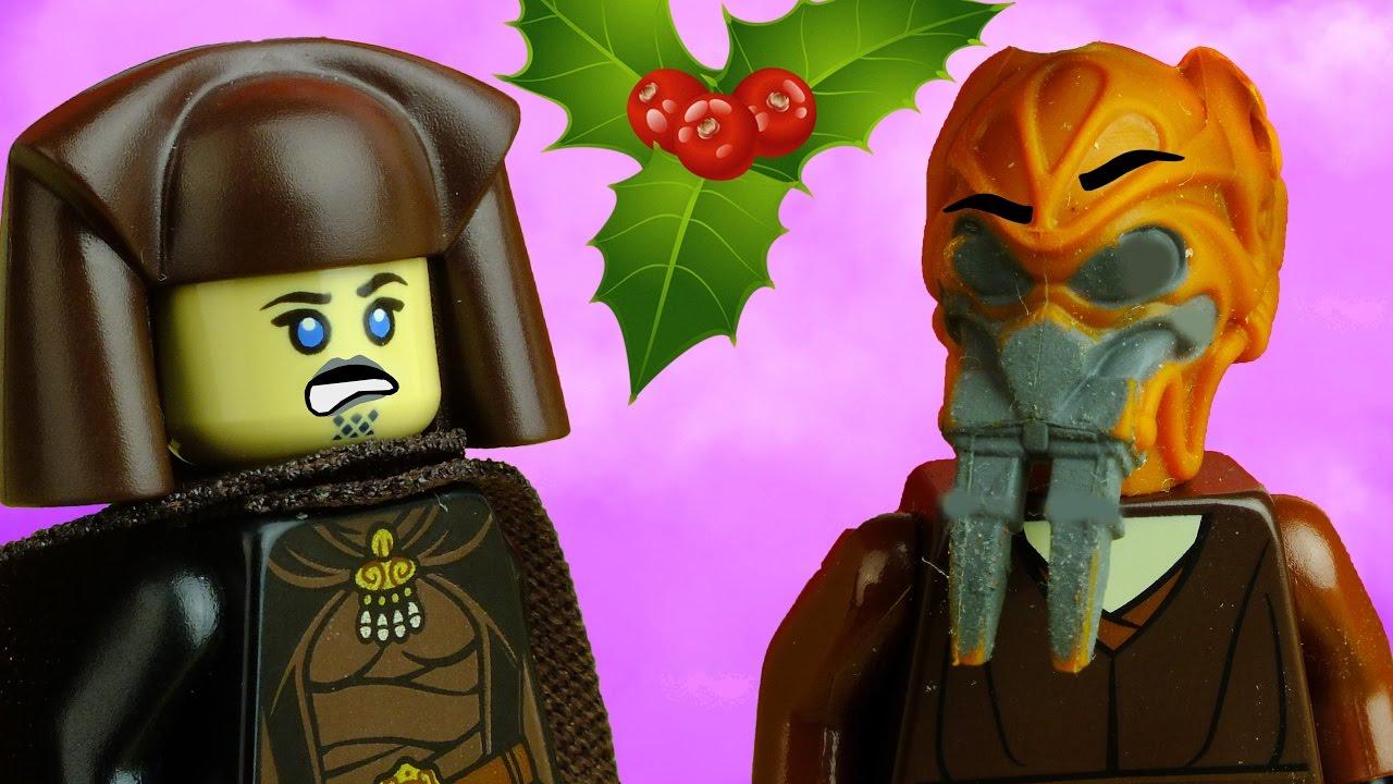 Day 14: Plo Koon's Mistletoe | Lego Star Wars Stop motion Short