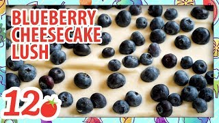 How to Make: Blueberry Cheesecake Lush