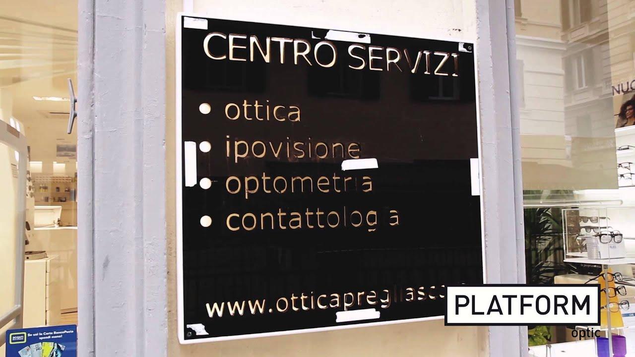 PLATFORM TV: Videointervista Roberto Pregliasco - Ottica Pregliasco