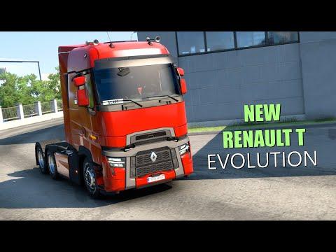 ETS2 V1.40 | NEW Renault Trucks T U0026 T High: Evolution - Euro Truck Simulator 2 Mods Review 2K