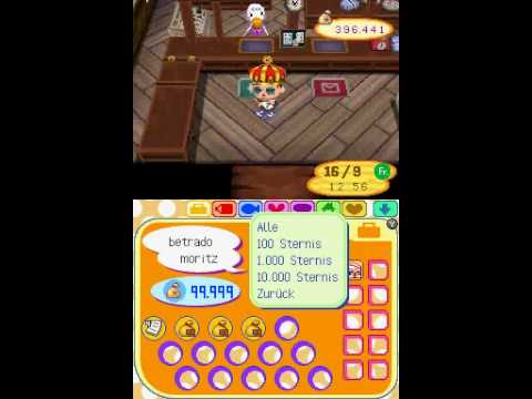 Animal Crossing Wild World Bells 99.999.999 tutorial [German]