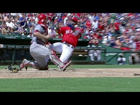 Andrus puts Rangers up, Beltre gets injured
