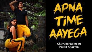 Apna Time Aayega | Gully Boy | Hip Hop Dance Choreography | Pulkit Sharma |