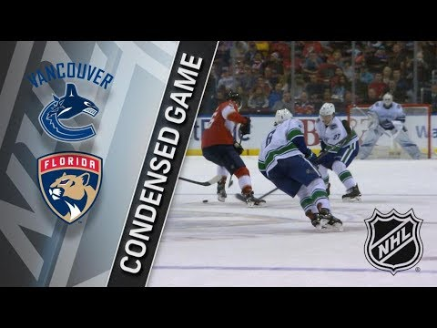 Vancouver Canucks vs Florida Panthers – Feb. 06, 2018 | Game Highlights | NHL 2017/18. Обзор матча