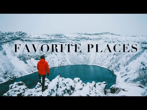 My Favorite Places on Earth in 2019