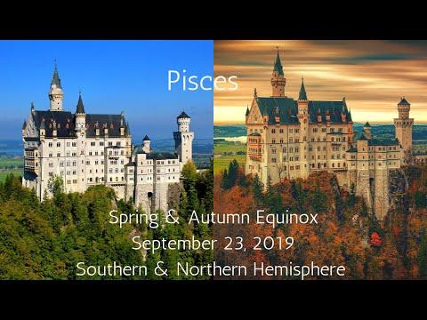 Pisces, Spring & Autumn Equinox September 23, 2019 // Psychic Tarot Reading