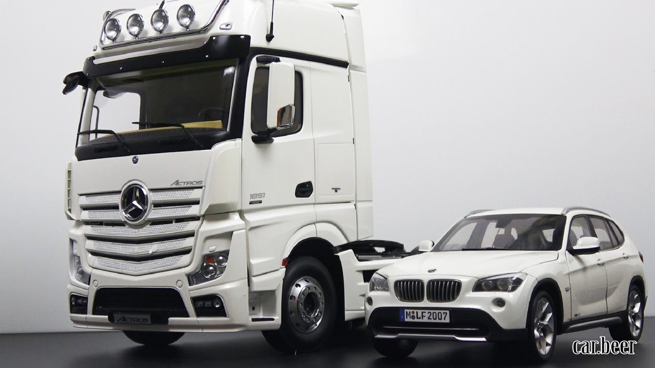 1 18 Mercedes Benz Actros Gigaspace 4x2 By Nzg Model Review Youtube