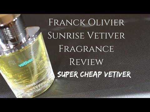 Sunrise Vetiver by Franck Olivier Fragrance / Cologne Review (Super Cheap Vetiver Cologne)