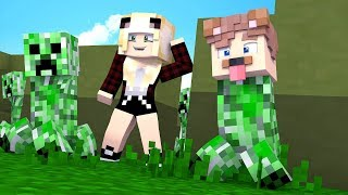 ICH BIN EIN CREEPER! CREEPER HIDE AND SEEK!