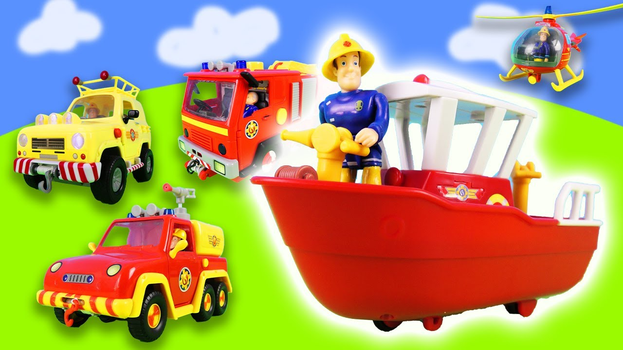 Fireman Sam: Adventures and water missions