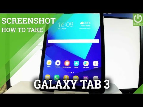 How to take screenshot on samsung galaxy s2 tablet
