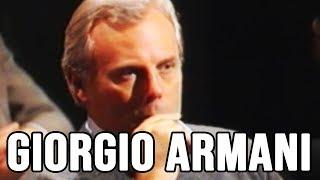 GIORGIO ARMANI INTERVISTATO DA ENZO BIAGI