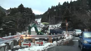 【HD】石榑峠道路 滋賀県側→三重県側を走ってみた