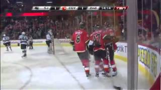 Sven Baertschi 2011-2012 NHL goals Calgary Flames