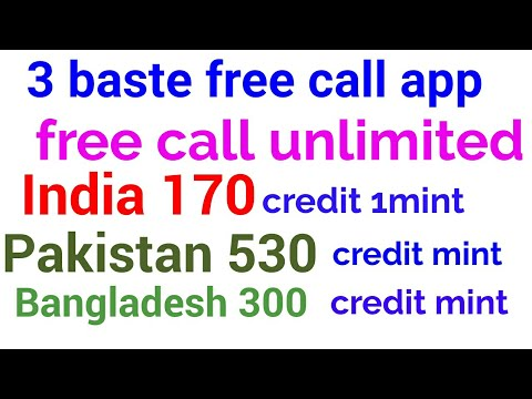 3 best free call app 2017 best free call app for android India 170 Pakistan 530 Banglades 300
