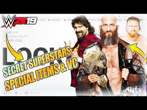 WWE 2K19 LOCKER CODES: SECRET SUPERSTARS UNLOCKABLES, SPECIAL ATTIRES & VC