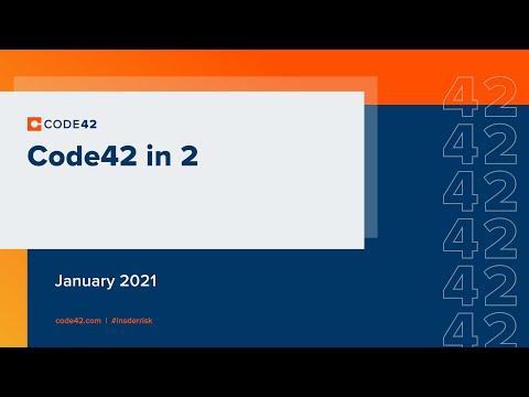 January 2021: Code42 in 2