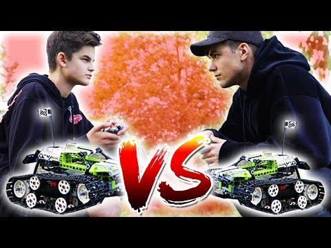 LEGO RENNWAGEN BATTLE (Oskar vs. Max) 🏎 😳
