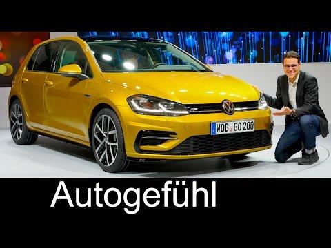 VW Volkswagen Golf 7 Facelift R-Line GTI GTE Variant REVIEW reveal 2018/2017