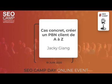 Cas concret, créer un PBN client de A à Z - Jacky Giang