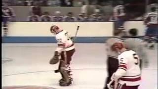 1974 Summit Series Canada vs  USSR game1 period3