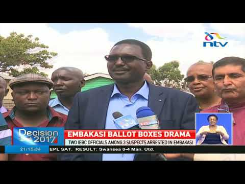 16 presidential ballot boxes broken and seals removed