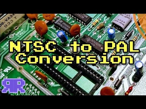 Commodore 64 NTSC To PAL Conversion | See Description For New Switch!