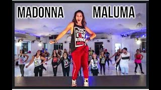 Madonna 💛 Maluma - Medellin 🎵 Reggaeton By Dj J.verner