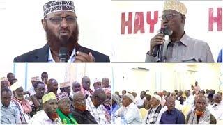 Beelaha Hawiye oo Axmed Madoobe ogu Baaqay inu Katago Kismaayo, Jubbaland |