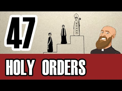 3MC - Episode 47 - What are the degrees of the Sacrament of Holy Orders?