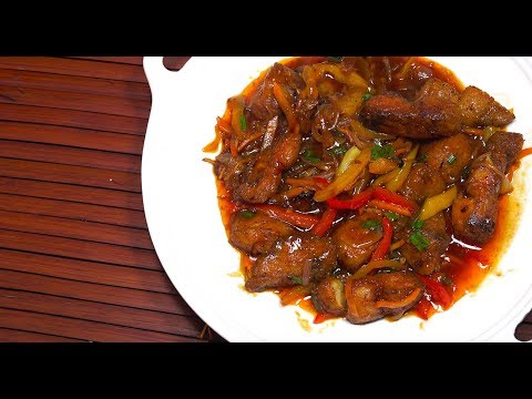 🔴 Chinese Sweet n Spicy Fish - Chinese Fish Recipe - Chinese Fried Fish Oyster Sauce