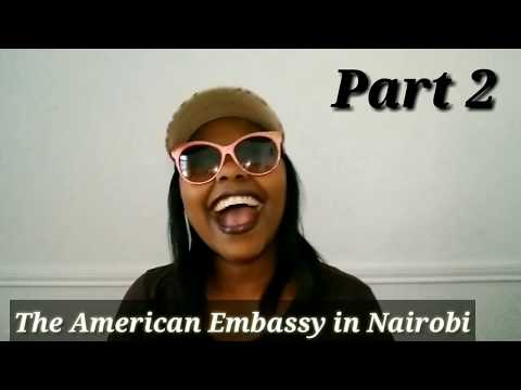 LASHANDRAH GETS A JOB AT THE AMERICAN EMBASSY IN NAIROBI-PT2 #thelashandrahchronicles #funnykenyans