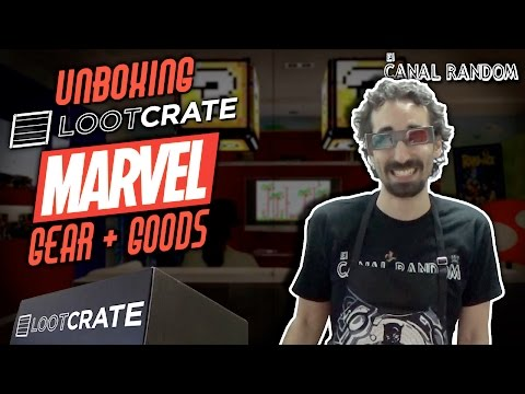 Marvel Gear + Goods Unboxing Lootcrate