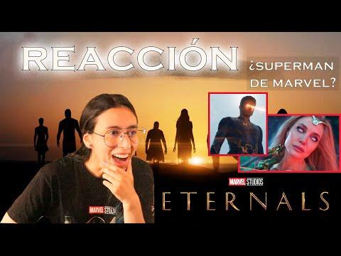 ????ETERNALS reacción tráiler final ???? Espectacular, increíble, épico, maravilloso..... Marvel ❤️