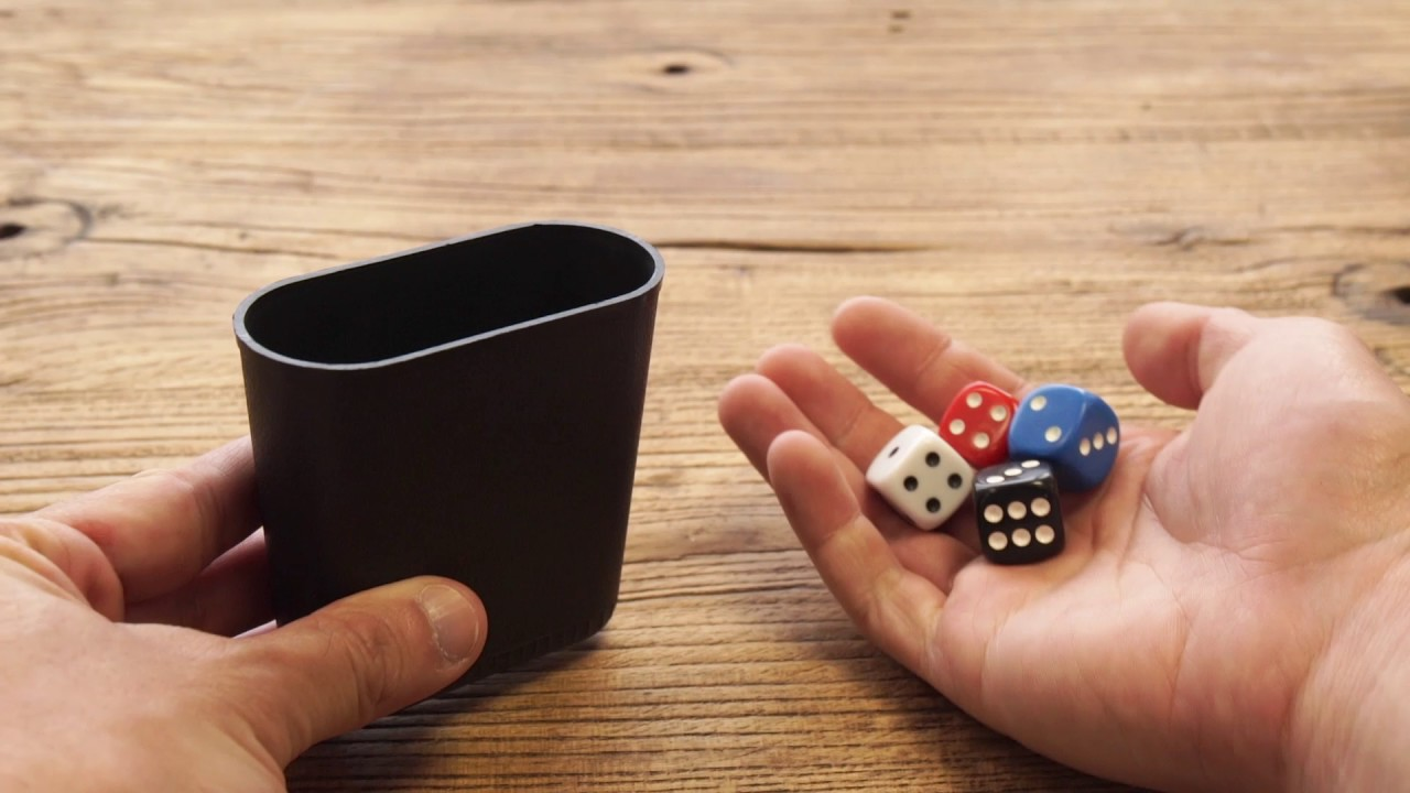Dice Roller Cup Domes Hand Shaking Dice Cup Shaker For Party Guess Game Play