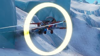 "Fortnite ""Fly Through Biplane Rings"" Locations"
