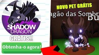 PET DE 1000 ROBUX DE HALLOWEEN DE GRAÇA NO ADOPT ME!!