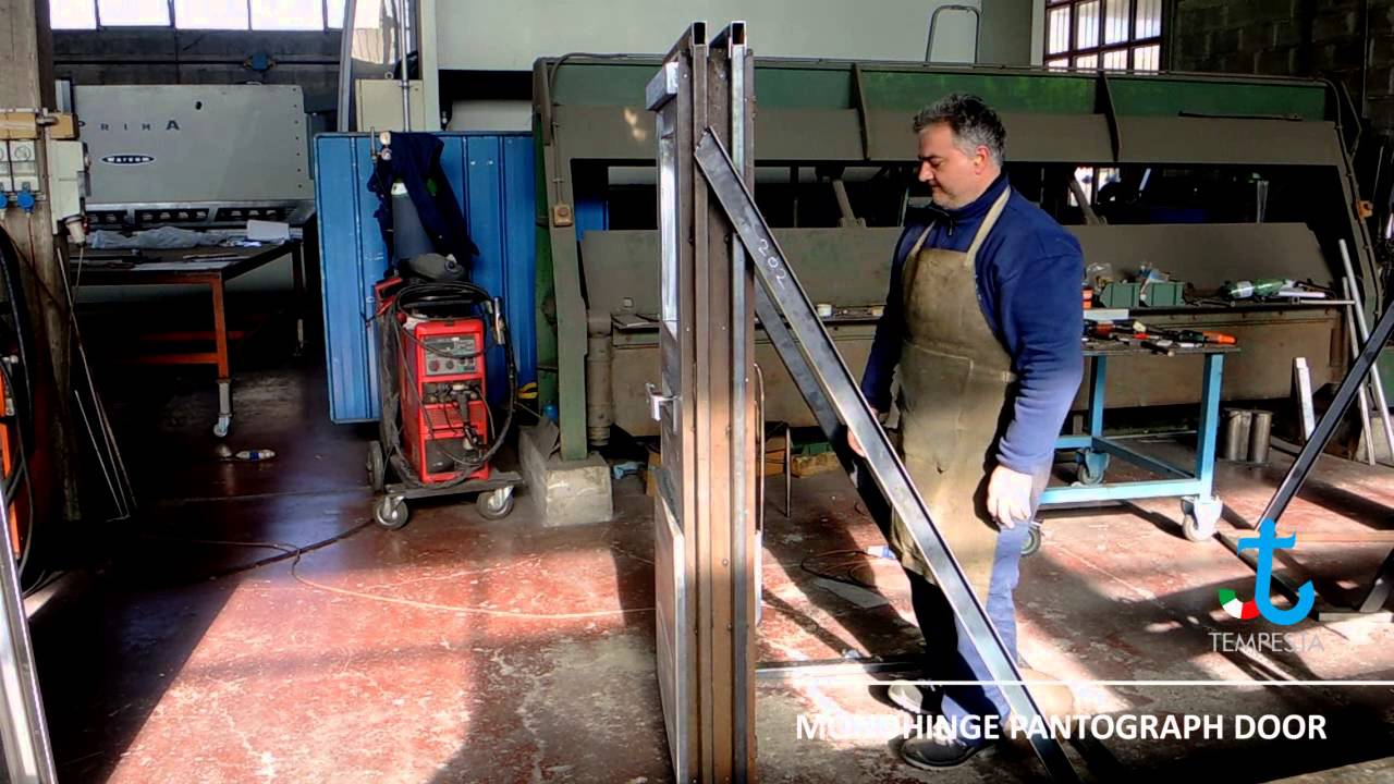 Monohinge Pantograph Door & Monohinge Pantograph Door - YouTube