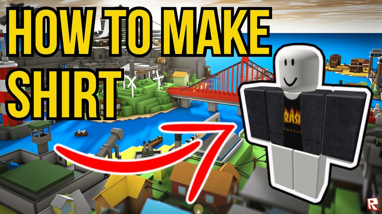 How To Make a SHIRT In ROBLOX In 12   How To Make Your Own ROBLOX SHIRT  IN 12 EASY
