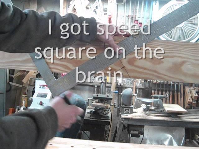 cub cadet tricks with framing square