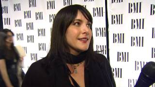 Danielle Brisebois interviewed at 58th Annual BMI Pop Awards