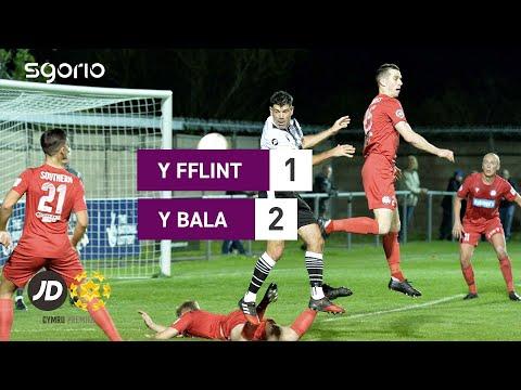 Flint Bala Town Goals And Highlights