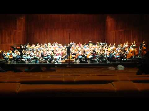 Youth Orchestra of Caracas (rehearsal at F.C.Gulbenkian with students of Lisbon Conservatoire)
