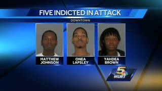 5 indicted on assault, ethnic intimidation charges in Cincinnati attack
