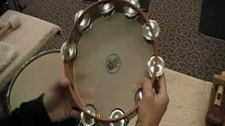 Performance Techniques for Tambourine by Daniel Smithiger