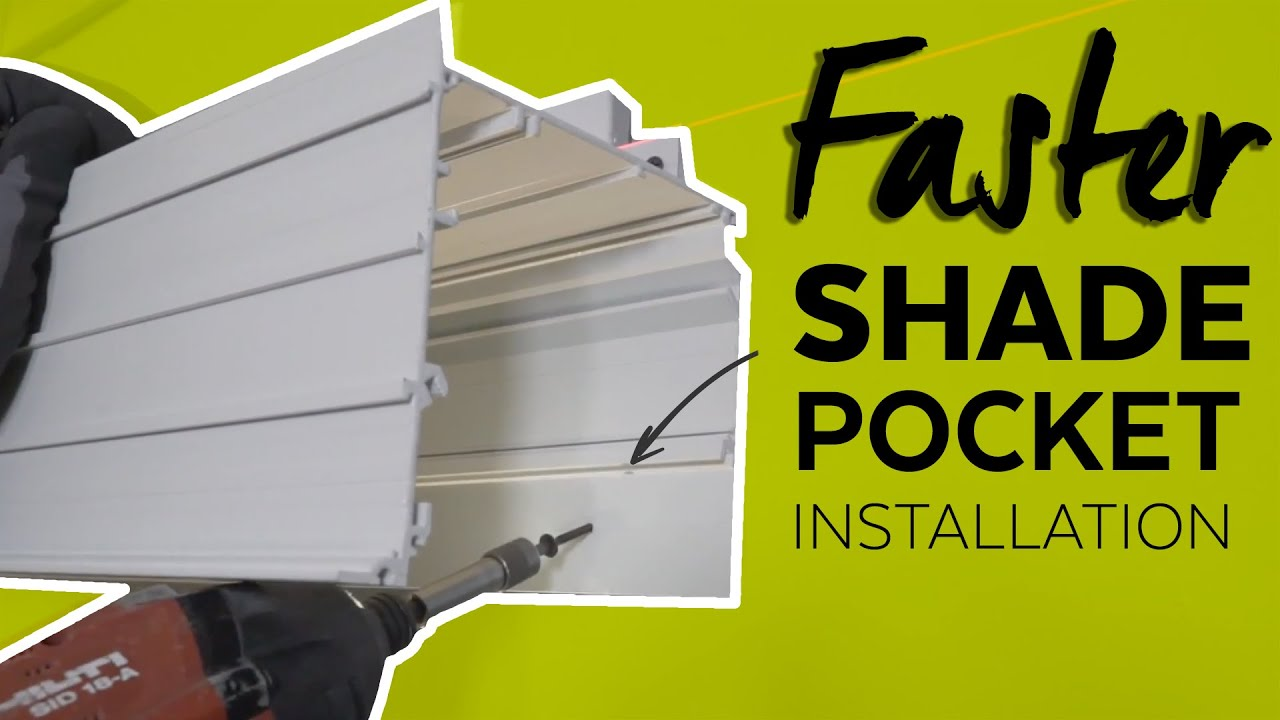 Shade Pockets For Building Perimeters From Armstrong