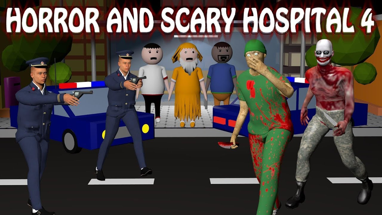 Horror Hospital 4 - Doctor Vs Patient | Horror Story (Animated In Hindi) Make Joke Horror