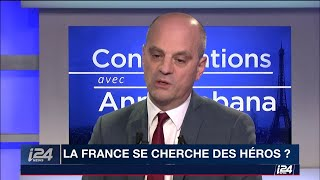 Baixar J.M Blanquer s'oppose au port des signes religieux sur i24NEWS