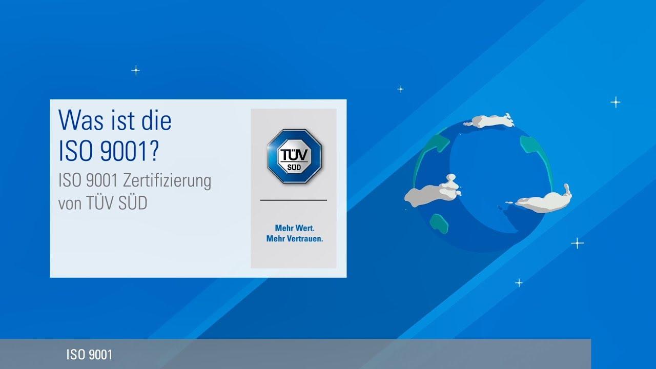ISO 9001 Zertifizierung - Qualität auf höchstem Niveau | TÜV