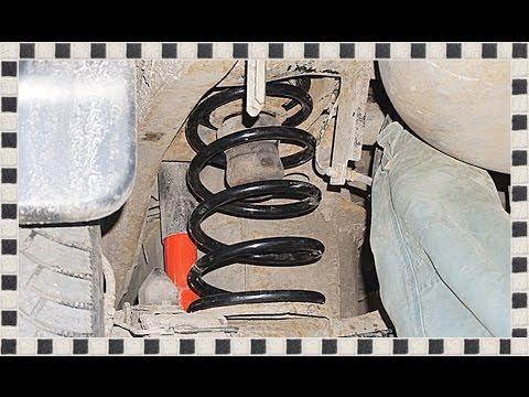 КАК ЗАМЕНИТЬ ЗАДНИЕ ПРУЖИНЫ ВЕРЕВКОЙ на Mitsubishi Pajero Sport. Rear springs.